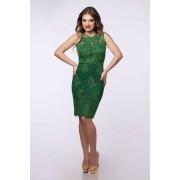 Ingrid Dress-verde
