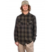 Salty Crew Inshore Flannel Shirt : olive - Size: Large