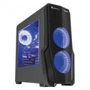 Кутия за компютър Genesis Titan 800 Blue, Midi Tower, 2 x HD Audio Jack, 2 x USB 2.0, 2 x USB 3.0, NPC-1129
