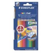 Creioane colorate acuarela si pensula 12 culori/set STAEDTLER