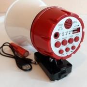 Portavoce megafon auto cu acumulator si prindere magnetica Voice Player