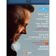 Video Delta MARISS - MUSIC IS THE LANGUAGE OF HEART AND SOUL - Blu-Ray