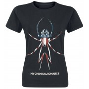 My Chemical Romance American Widow Girls shirt zwart