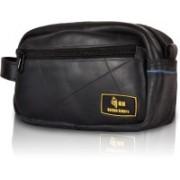 Golden Riders Robust kit pouch Rubber- Tube-made Travel Shaving Kit(Black)
