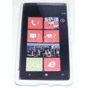 Силиконов гръб ТПУ за Nokia Lumia 820 Бял