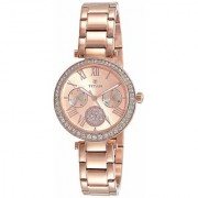 Titan Spring Summer'15 Analog Rose Gold Dial Women's Watch - NK95023WM01