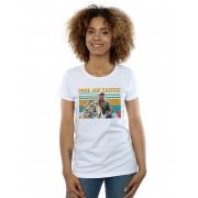 Absolute Cult Joe Exotic Women's Free Joe Exotic Photo T-Shirt Blanc Large