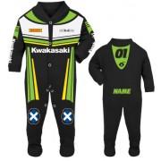5-Motorcycle Baby grow babygrow Kwakasaki black Baby Race Suit new 2017