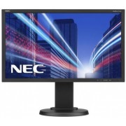 "Monitor IPS LED Nec 21.5"" E224Wi, Full HD (1920 x 1080), VGA, DVI, DisplayPort, Pivot, 6 ms (Negru)"