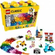 Cutie de caramida creativa LEGO Classic 10698 Construieste-ti propriile jucarii creative kit de constructie pentru copii 790 bucati
