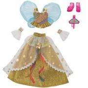 Rika chan Dresses Harajuku Girls School Code Dress Set Premium Shooting Star Gold Fairy