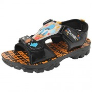 Disney Boy's GDSD Black Sandals and Floaters - 5 kids UK/India (23 EU)