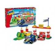 SET CONSTRUCTIE UNICO PLUS CARS FOR KIDZ SET F1 - ANDRONI GIOCATTOLI (UN8564)