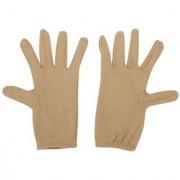 Tahiro Beige Cotton Gloves Women- Pack Of 1