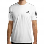 adidas Club 3-Stripes T-shirt Heren - wit