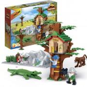 BanBao Animal Ground Tree House 6656