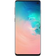 Samsung - Galaxy S10 with 512GB Memory Cell Phone (Unlocked) Prism Prism - White