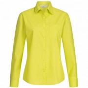 RUSSELL shirt met lange mouwen poly-katoen poplin dames 0R934F0-limoen - groen - Size: 3X-Large