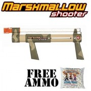 Camouflage Marshmallow Shooter w/ Free Bag of Marshmallow Ammo
