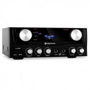 Skytronic Amplificador HiFi 2 entradas micrófono. 400 W (Sky-103.202)