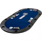 OEM M09495 Poker podložka skladacia modrá