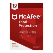 McAfee Total Protection 2020 Version complète 10 appareils 1 Año