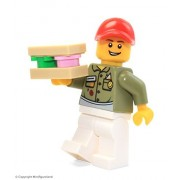 LEGO City MiniFigure: Deli Owner (w/ Sandwich) From Set 31050