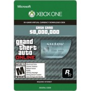 GRAND THEFT AUTO ONLINE: MEGALODON SHARK CASH CARD 8 000 000 - XBOX ONE - XBOX LIVE - MULTILANGUAGE - WORLDWIDE