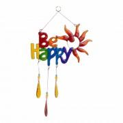 """Raamdecoratie """"Be Happy"""""""