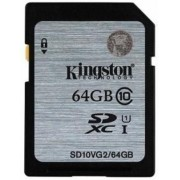 Card de memorie Kingston SDXC, 64GB, UHS-I
