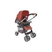Carrinho de Bebê Zap Kiddo Vermelho 5212VM