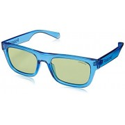Polaroid 6050/S Gafas de sol Unisex Adultos, color Azul, 53 mm