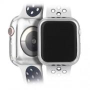 DUX DUCIS 2x Gel telefontok hátlap tok TPU Cover Apple Watch 4 44mm ezüst és átlátható