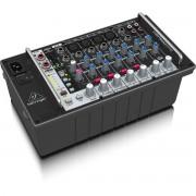 Behringer EuroPower PMP500Mp3 Mesa de Som PMP-500mp3 Mixer Amplificada de 8 Canais