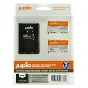 Jupio KIT 2x Battery NP-BX1 Compact USB Dual Charger komplet punjač i dvije baterije za Sony Cyber-shot DSC-RX100 II, RX100 III, RX 100 IV, RX1, RX100, AS10, AS15, WX300, HX300, HX50V, RX1R CSO1000 CSO1000