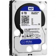 Твърд диск hdd 6tb wd blue 3.5 инча sataiii 64mb/wd60ezrz