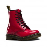 Dr. Martens Dr Martens 1460 Patent Red Rouge Boots Size 8