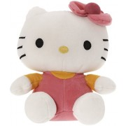SANA Hello Kitty Soft Toy Character Specially Designed For Kids To Carry Everywhere Stuff | Attractive Designer and Stylish | Perfect for Gifting Purpose | Return Gift | Birthday Gifts (Dark Pink, 32cm)