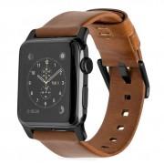 Nomad Kožený pásek / řemínek pro Apple Watch 42mm / 44mm - Nomad, Modern Brown Black