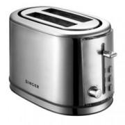 Тостер Singer STO 850 INOX, препичане/размразяване/претопляне, функция за автоматично изключване, 850W
