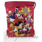 Disney Mickey and Friends Drawstring Backpack Tote Bag