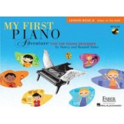 My First Piano Adventure Lesson Book B Steps on the Staff For the Young Beginner With CD Audio