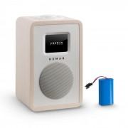 Numan Mini One Design Radio numérique Bluetooth DAB+ FM AUX batterie érable