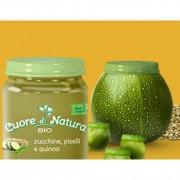 Cuore Di Natura Omogeneizzato Piselli Con Zucchine 110 Gr
