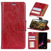 Bolsa Tipo Carteira Elegant para Nokia 8 Sirocco - Vermelho