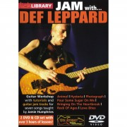Roadrock International Lick Library: Jam With Def Leppard DVD, CD