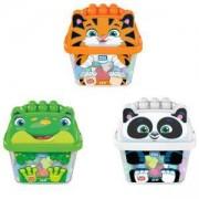 Игрален комплект Мега Блокс, Различни модели - жаба, тигър или панда, 175057