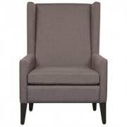 houzzcraft igor wing chair in grey