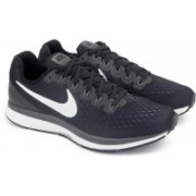 Nike AIR ZOOM PEGASUS 34 Running Shoes(Black)