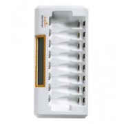 Jupio JBC0080 Auto/interno Bianco carica batterie